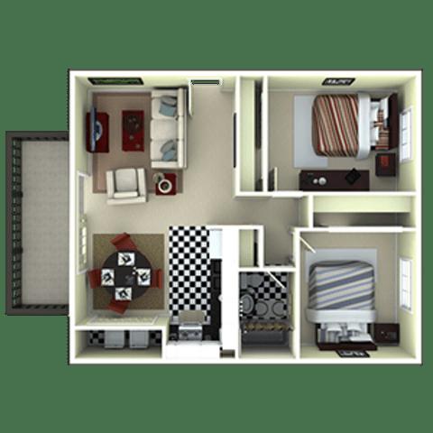 Floor Plan  B1RQ