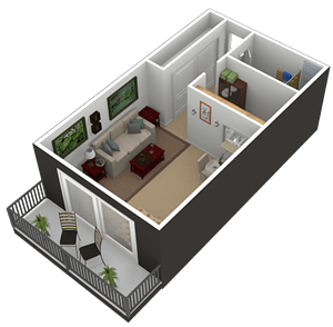 Floor Plan  S2Q