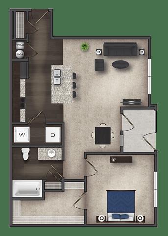 Floor Plan  A3, opens a dialog.
