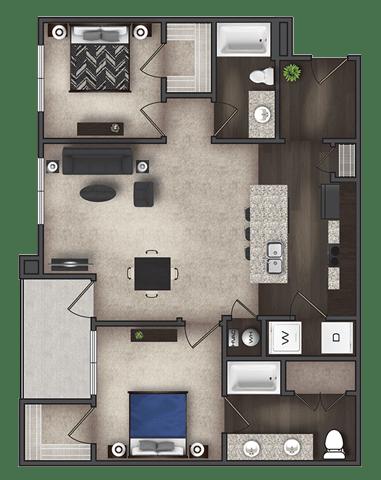 Floor Plan  B2, opens a dialog.