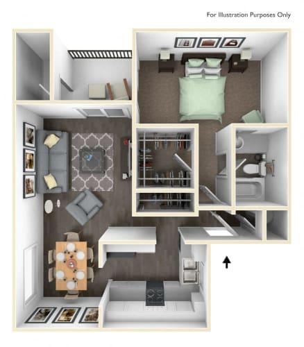 Floor Plan  Multnomah Classic