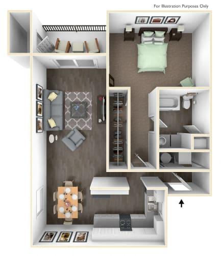 Floor Plan  Tillamook Premiere Floor Plan