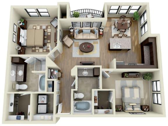 Floor Plan  Cobalt
