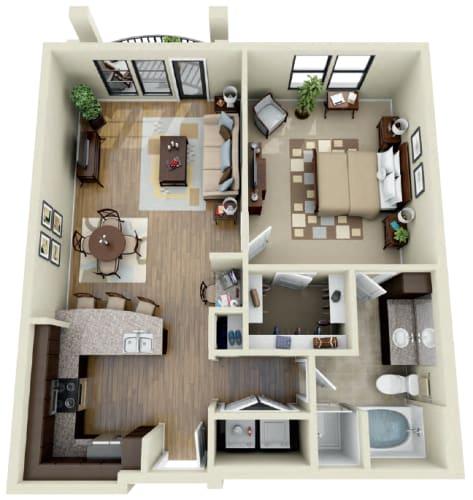 Floor Plan  Olive