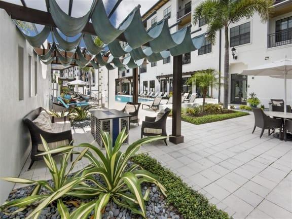 Pool Cabana & Outdoor Entertainment Bar at Azul Baldwin Park, Orlando, 32814