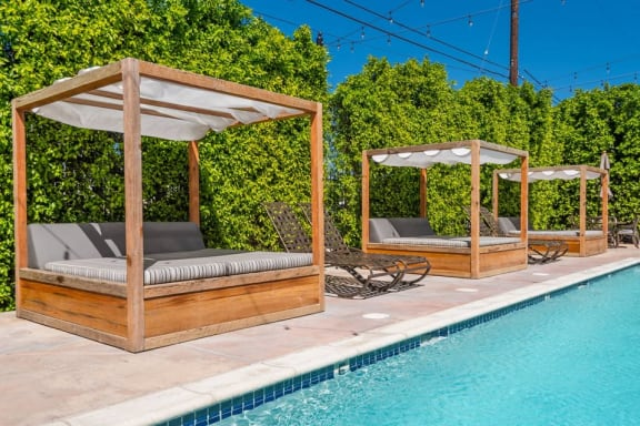 Resort style pool at The Verandas, CA 91304