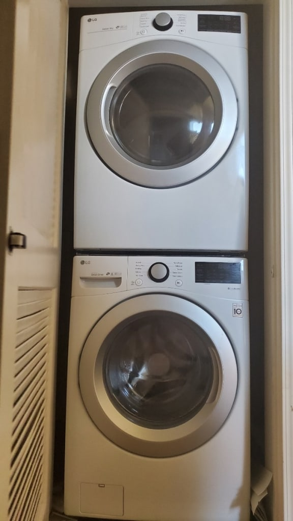 Verandas washer and dryer