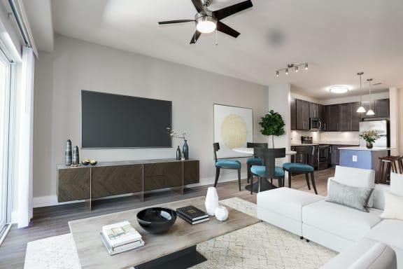 B12b Floor Plan at 800 Carlyle, Virginia