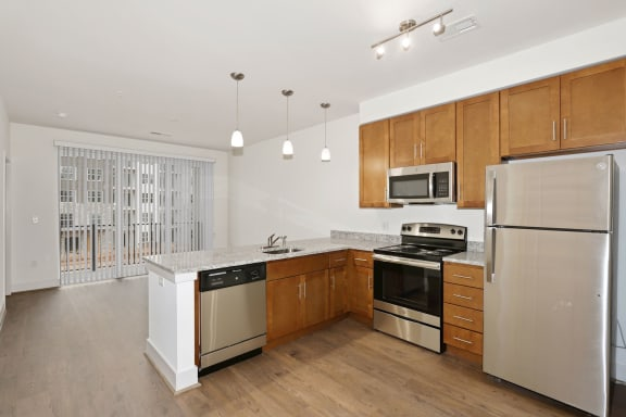A7AD Kitchen at Avenue Grand, White Marsh, MD, 21236