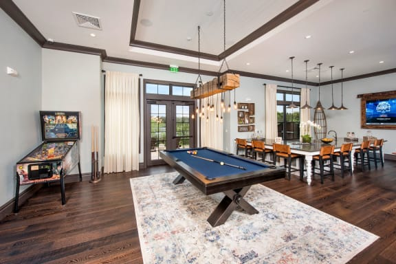 Game Room For Entertainment at Town Trelago, Florida