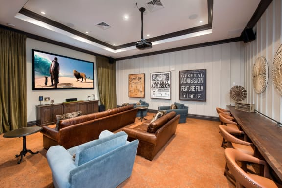 Clubhouse Theater With Wi-Fi at Town Trelago, Maitland, Florida