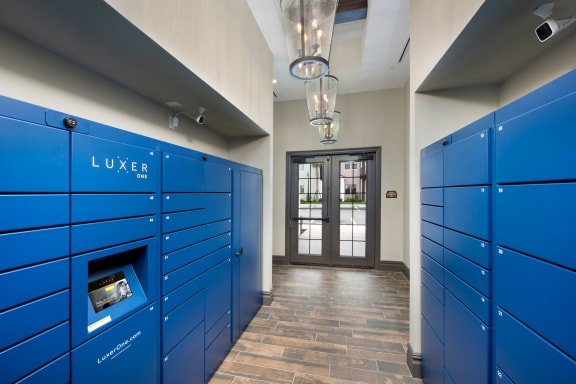 Luxer Package System at Town Trelago, Florida, 32751