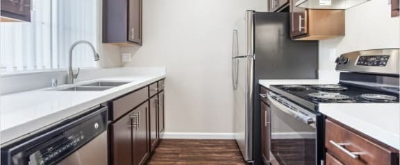 Stainless Steel Appliance Suite