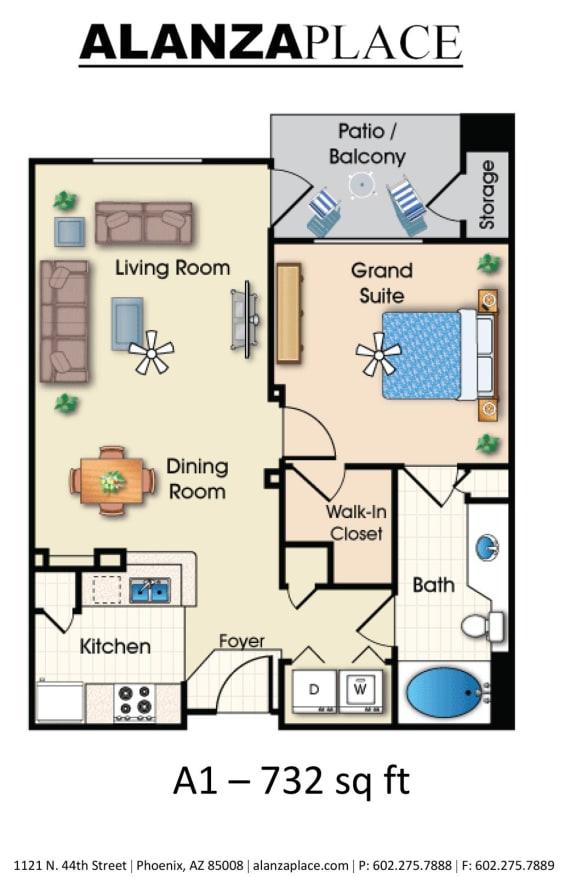Belmont one bedroom one bathroom