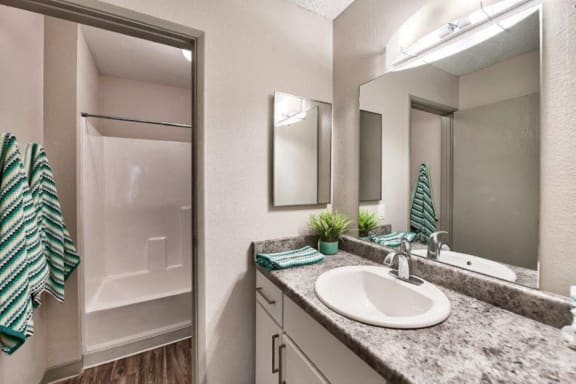 Spacious and Clean Bathroom at Heritage Pointe Apartments