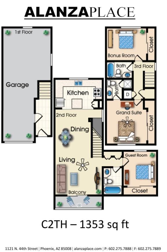 Miramar three bedroom three bathroom