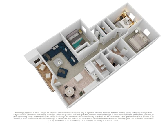 Floor Plan  Cedar House 3 bed 2 bath