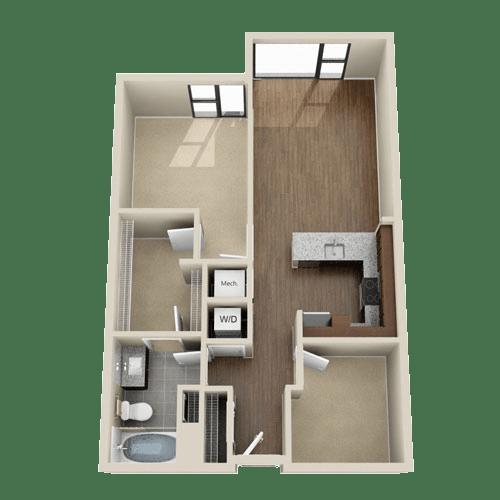 Floor Plan  1D1