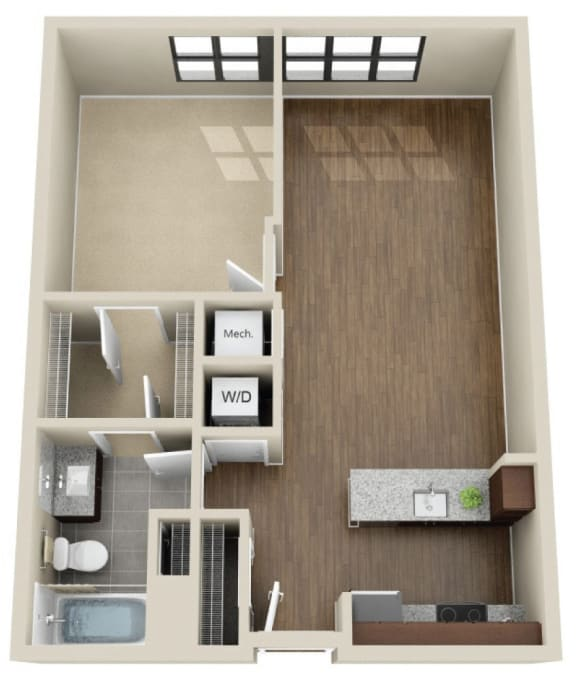 Floor Plan  1H