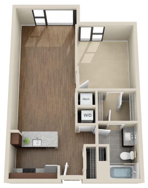 Floor Plan  1N