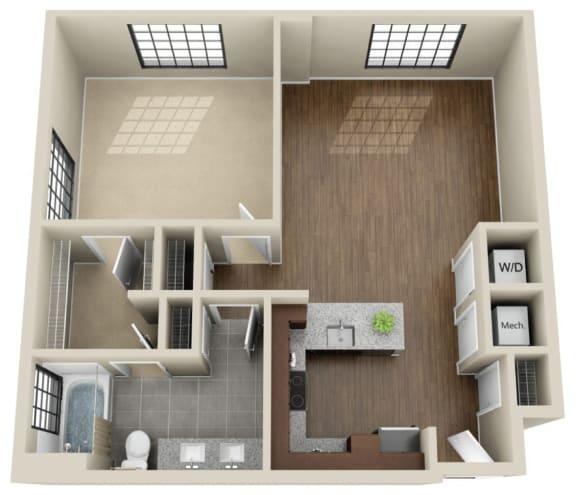 Floor Plan  1V