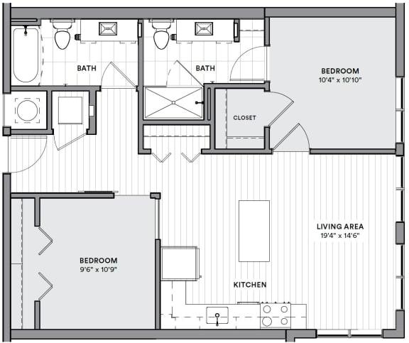 Floor Plan  B21