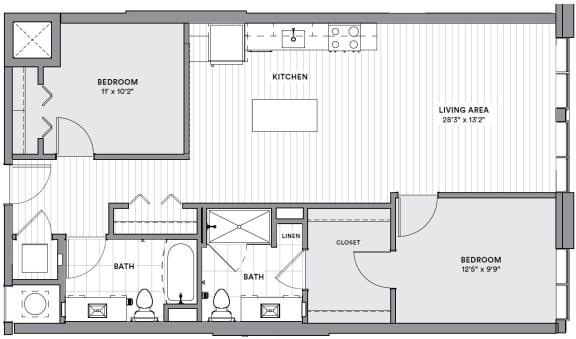 Floor Plan  B22