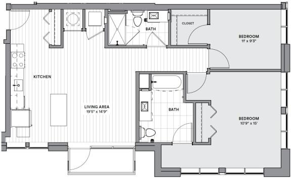 Floor Plan  B23