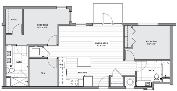 Floor Plan  BD1