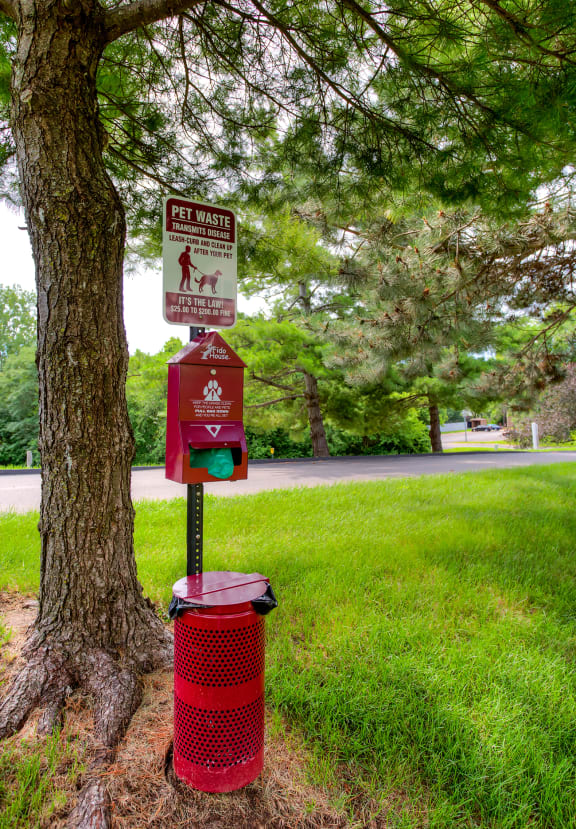 Pet-Friendly Living with Pet Waste Clean-Up Station