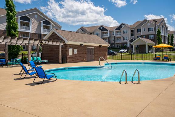 Pool with Pergola Area