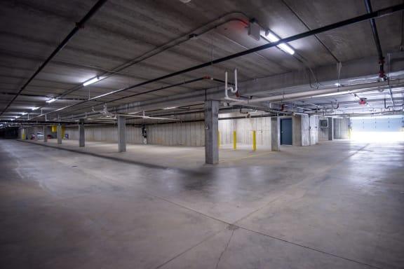 Heated Underground Garage Parking