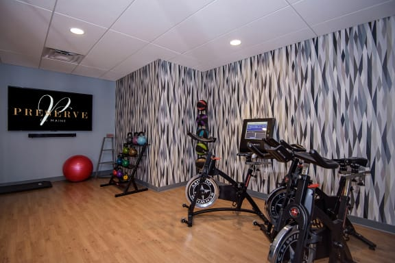 Wellbeats Fitness Studio with Stationary Bikes