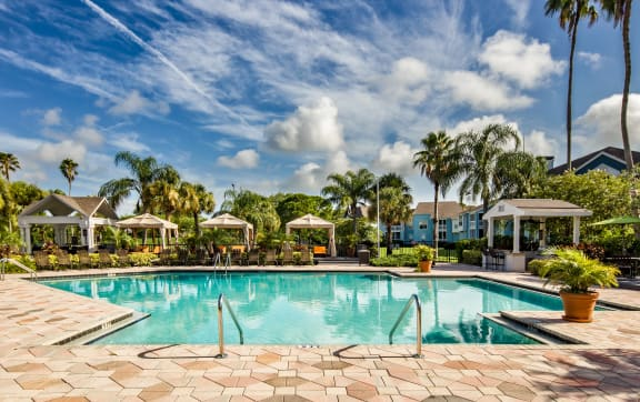 Luxurious Resort-Style Pool and Sundeck