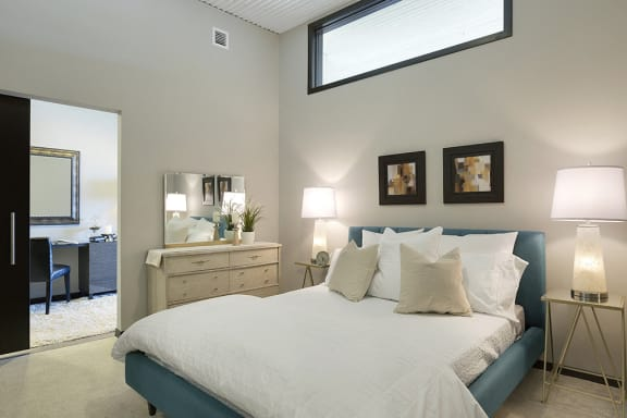 Spacious Bedrooms with Tall Ceilings