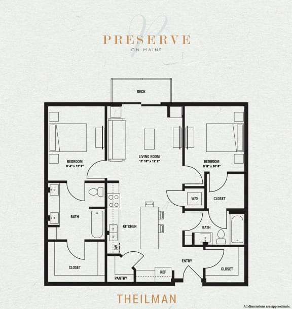 Theilman Floor Plan