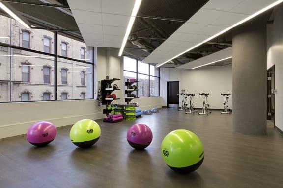 Yoga and Cycling Studio