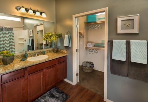 Bathroom With Vanity Sink at Casitas at San Marcos in Chandler, AZ