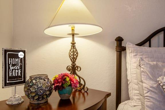 Bedroom at Casa Bella Apartments in Tucson AZ 4-2020