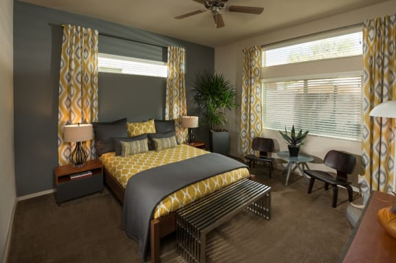 Bedroom at Casitas at San Marcos in Chandler, AZ