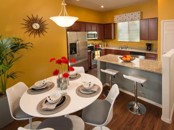Dining Area at Casitas at San Marcos in Chandler, AZ