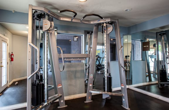 Gym at Casa Bella Apartments in Tucson AZ 4-2020