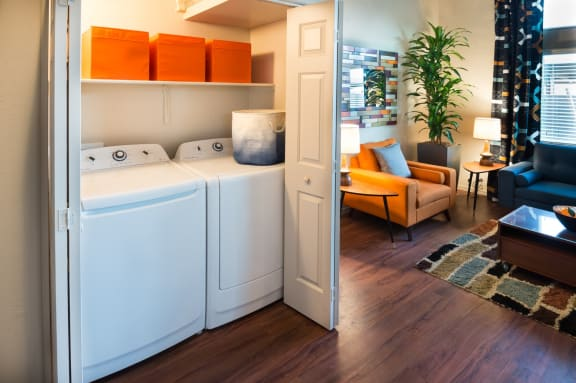 In-Unit Laundry at Casitas at San Marcos in Chandler, AZ