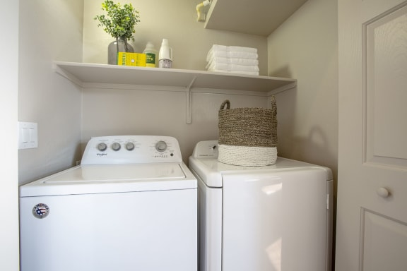 In-unit Laundry at Casitas at San Marcos in Chandler AZ Nov 2020