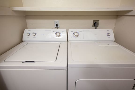 In-unit washer dryer at Orange Tree Village Apartments in Tucson AZ