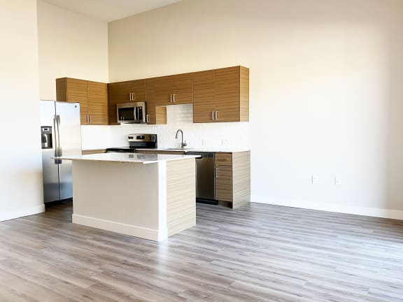 Kitchen at Senderos at South Mountain in Phoenix Arizona