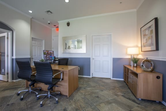 Leasing Office at Casitas at San Marcos in Chandler AZ Nov 2020