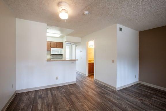 Living room at Casa Bella Apartments in Tucson AZ 4-2020