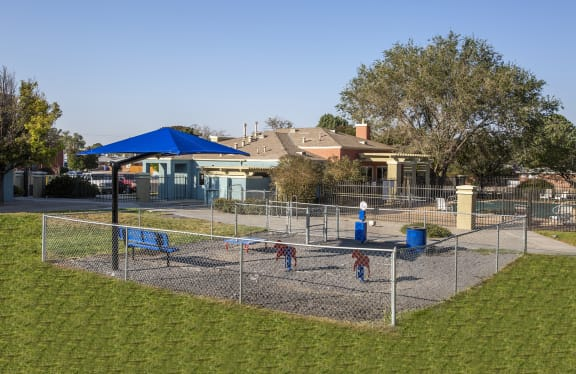 Pet Area at Aspen Ridge in Albuquerque New Mexico October 2020