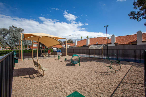 Pet park at Orange Tree Village Apartments in Tucson AZ